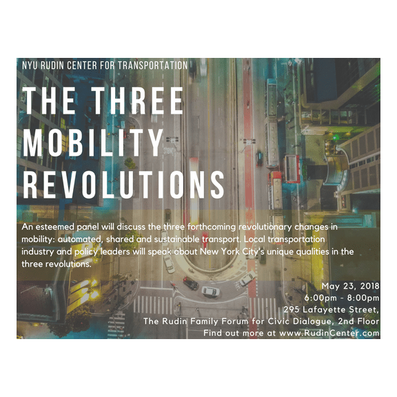 The Three Mobility Revolutions