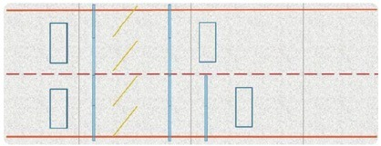 WIM sensor layout