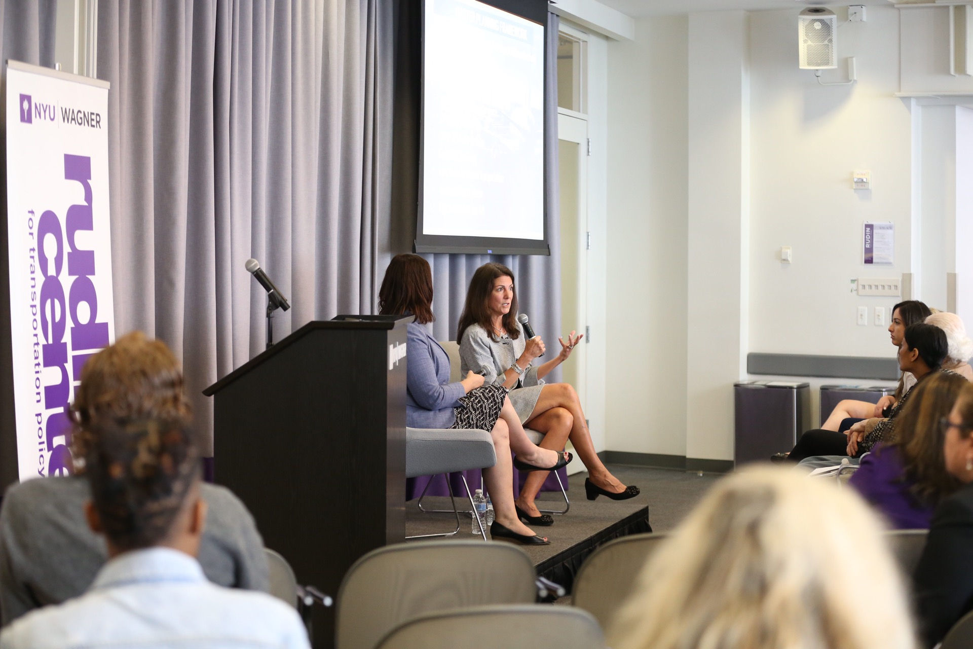 Lysa Scully Speaks at the NYU Rudin Center